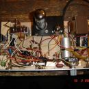 Moj, ampak res moj lampaš, narejen iz starih delov, ecc81 in el34. Delal je