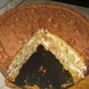 Sadno, čokoladna torta