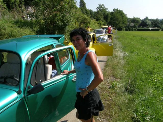 Moj hrošček z menoj  v Vinici 2008