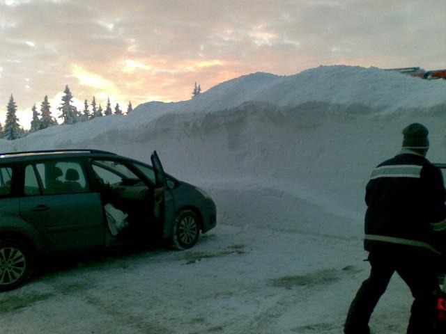 Velik snega ...