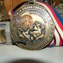 medalja iz evropske razstave v Pragi