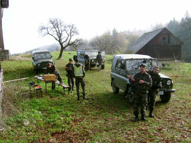 Medklubski spopad na LOM-u 2.11.2008 - foto