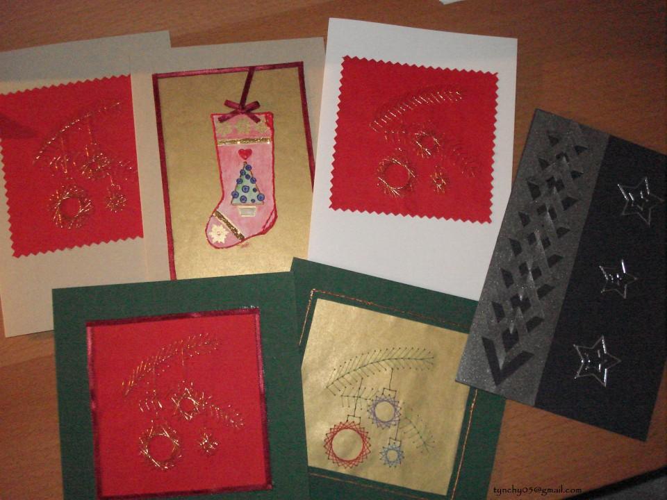 Božično-novoletne voščilnice - foto povečava