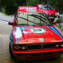 Lancia polepljena