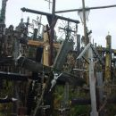 Hrib križev severno od Vilne.