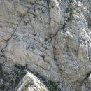 Czech team attempt on Triglav, the beginning of the very demanding Plemenice route