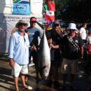 Yelowfin tuna, caa 50kg, ujeta zadnji dan tekmovanja. Takih tun je bilo ujetih kar nekaj.