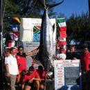 Največja ujeta riba na SP, Blue marlin 208,6kg. Ujela ga je ekipa Angola C
