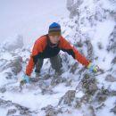 Košutnikov Turn (2134 m) - Zimske razmere me delajo rahlo živčno in skeptično, ampak okej