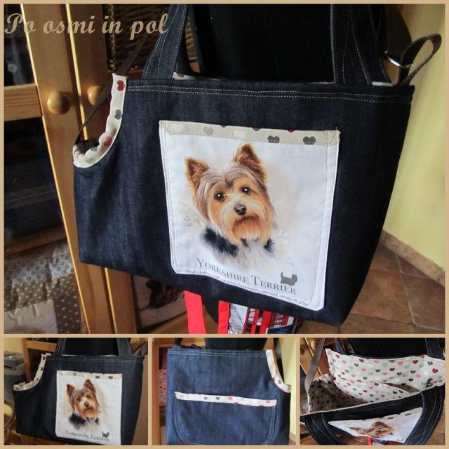 Torba za nošenje malega psa - foto