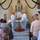 Blagoslovitev kapele v Gerlincih
