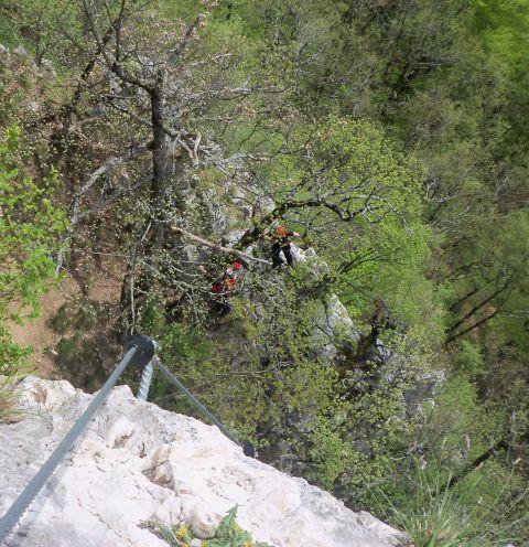 Vinska gora-plezanje Ferate - foto