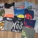 Majice, vse št. 110-116, komplet 30 eur ali posamično