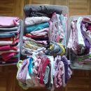deklica 9 mesecev do 2 leti, vse za 20€, več kot 100 kosov oblačil