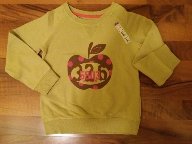 Next tanjši puloverček 5-6, 4 €