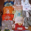 oblačila za fanta od 3-9 mesecev