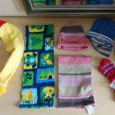 otroški šali, kape, rokavice...1€