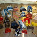 zimske otroške kapa šali trak rokavice 1€