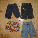 92,98 otroška oblačila: fantovske kratke hlače 1€
