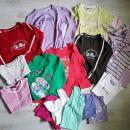 122-128-134 otroška dekliška oblačila: majice, komplet Champion 12€