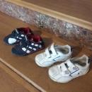 OBUTEV: otroški čevlji, superge modre 24 in bele so 25 7€/kom