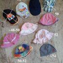 otroške poletne kape s šiltom, klobuk paname 1€-kom