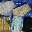 Moške/fantovske kratke hlače, bermuda št. L in 32