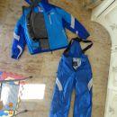 smučarski komplet: jakna in hlače L št.48-50  oblačila