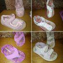 23 dekliška poletna obutev, Sandali 3€