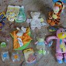 Otroške igrače pripomočki. Duda plenice krema ninica. Vse novo