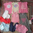 128, 134, 140 in 146 oblačila za deklico