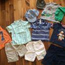 Paket poletnih oblačil za fantka št. 86;15eur