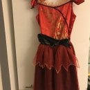 Obleka/kostum  za hudička 11-12 let;11eur