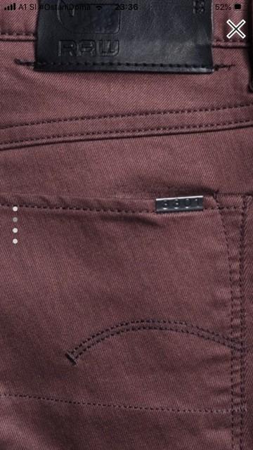 G-Star bordo jeans, 26, (xs-s, 34-36), nove - foto