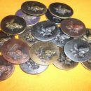Konjske glave,odlitki,18 kosov- 20 Eur