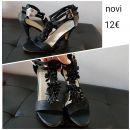 Novi ženski sandali, vel 39, 12€