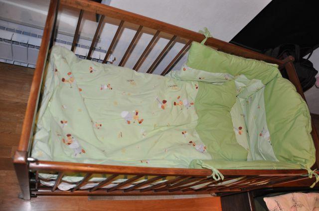 Otroška postelja dimenzij 120x60 cm, 100€