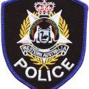 W.A. POLICE - DIEU RT MON PROIT WESTERN AUSTRALIA