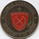 FORCE COMMANDER - BRIGADIER ALAN GEDER