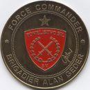 FORCE COMMANDER - BRIGADIER ALAN GEDER