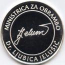 MINISTRICA ZA OBRAMBO - DR. LJUBICA JELUŠIČ