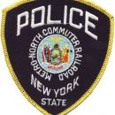 POLICE -METRO-NORTH COMMUTER RAILROAD NEW YORK STATE USA