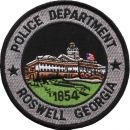POLICE DEPARTMENT ROSWELL GEORGIA 1854