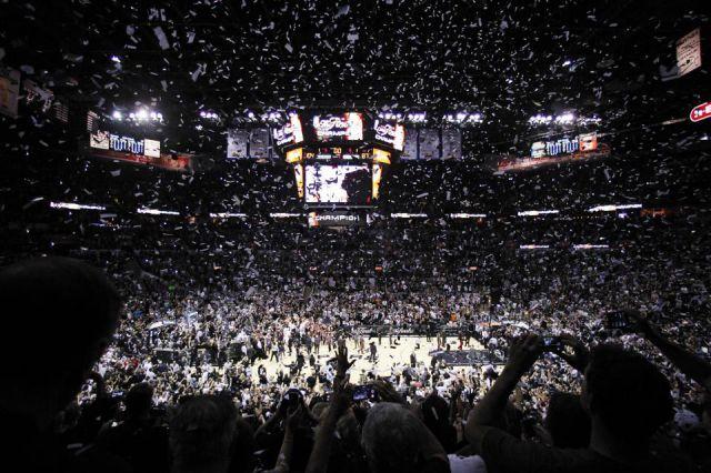 NBA: San Antonio - Miami - foto