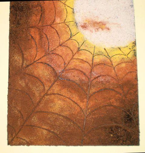 Sonce v pajčevini