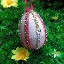 ročno narejena velikonočna jajčka
