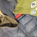 Bunda in 2 topli jopici za fanta 104, 4 leta