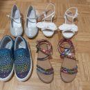 Sandali, čevlji 37 uk4 nd 23,5cm NOVO next