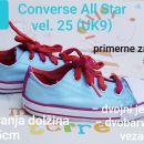 Modro rdeče nizke Converse All Star vel. 25 (UK9)