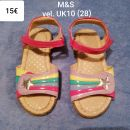 Sandali M&S puncka vel. 28 (UK10)